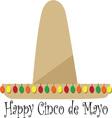 Happy Cinco de Mayo vector image