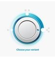 knob switch vector image vector image