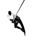 wakeboarding vector image