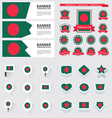 SET bangladesh vector image
