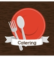 Catering icon design vector image
