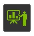 Presentation icon vector image