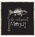 pirate restaurant vector image