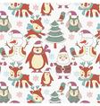 winter xmas print vector image
