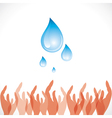 save water concept stock vector image