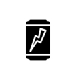 Energy drink Icon Flat vector image