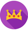 king crown vector image