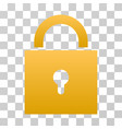lock gradient icon vector image