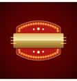 Retro Showtime Sign Design Cinema Signage Light vector image