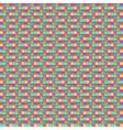 colorful pattern tile floor modern style design vector image
