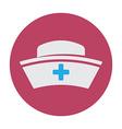 nurse hat vector image