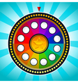 Colorful Wheel of Fortune vector image vector image