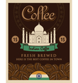 Indian coffee vector image