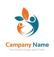 Human Care Logo vector image