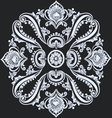 floral ornament decorative flower and elements vector image