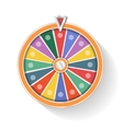 Colorful wheel of fortune vector image