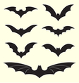 group of bat vector image