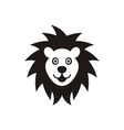Lion face icon vector image