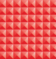 Triangle red jewel texture seamless background vector image