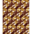 Bright stylized symmetric endless pattern vector image
