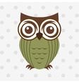 owl bird design vector image