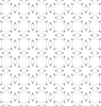 Seamless stylized flowers pattern in oriental vector image vector image