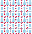 Seamless Christmas pattern Abstract background vector image