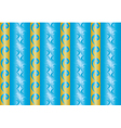 seamless blue and yellow texture with vertical lin vector image vector image