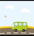 autobus vector image vector image
