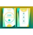 Brochure Flyer design Layout template 006 vector image