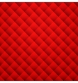 Red texture background Leather seamless pattern vector image
