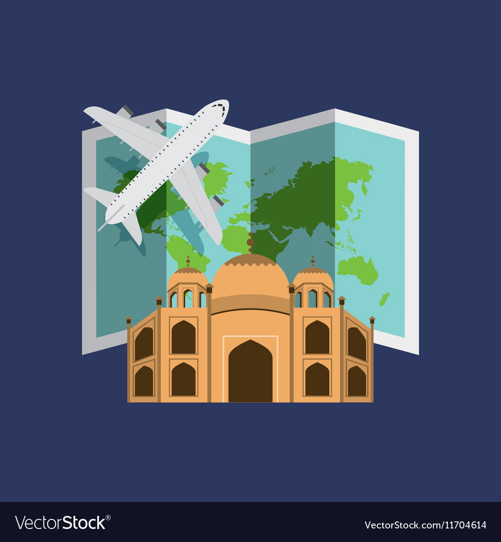 Travel and cities design vector