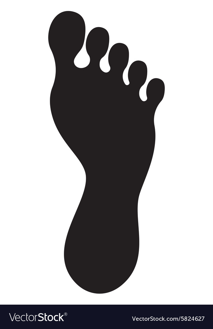 Foot icon2 vector
