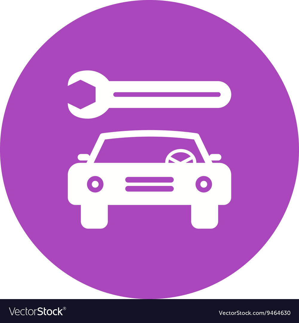 Car repair i vector