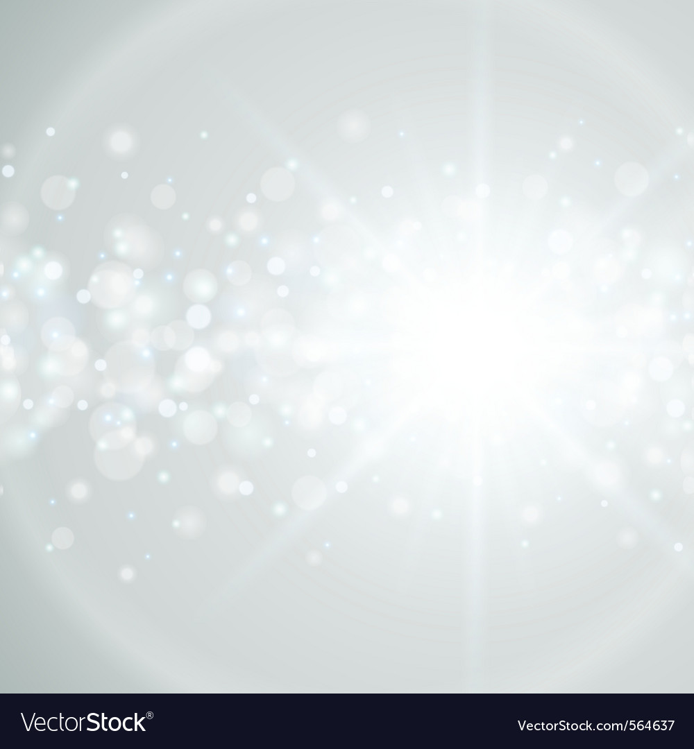 Lens flare abstract light vector