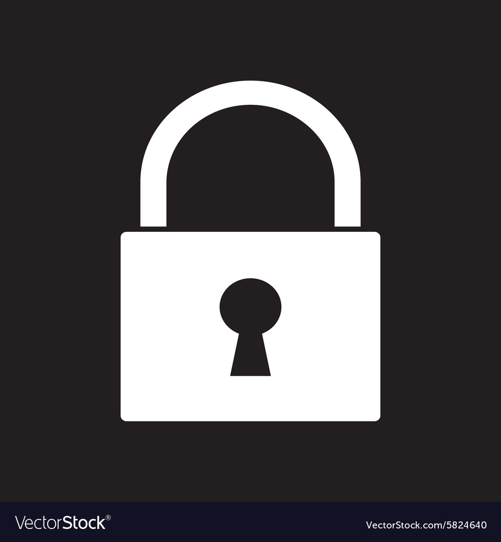 Lock icon2 vector