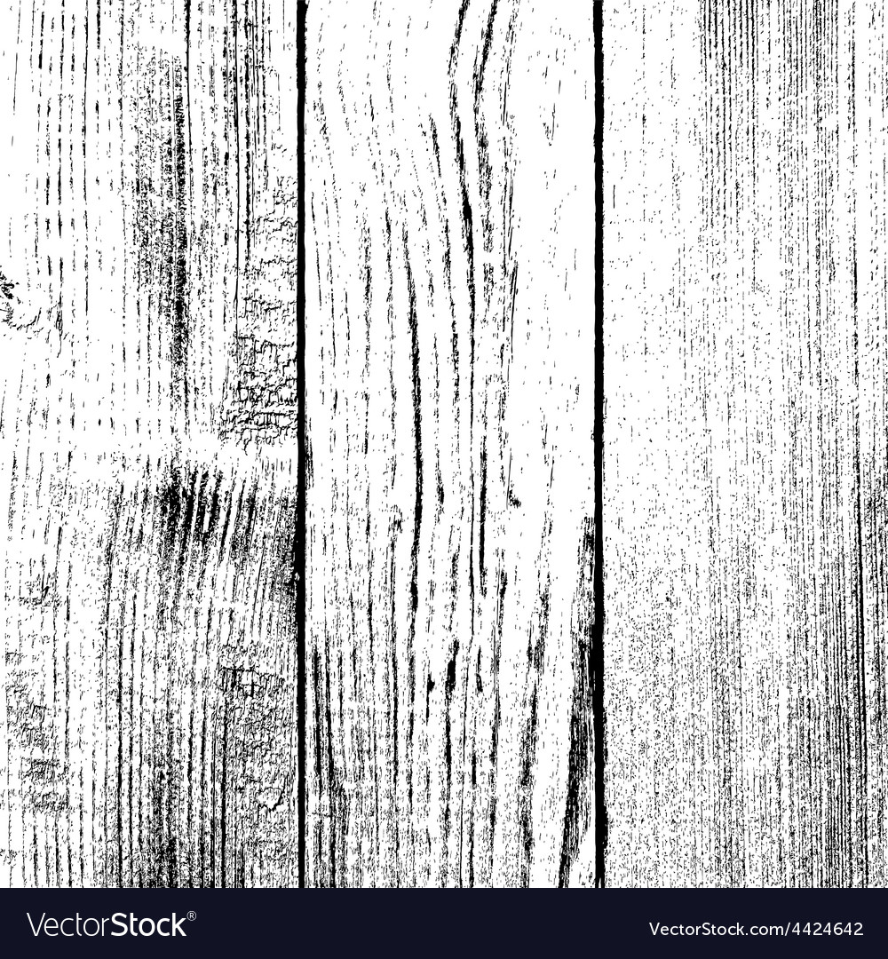 Wooden planked fence vector
