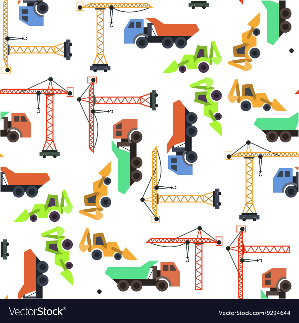 Seamless pattern construction vector