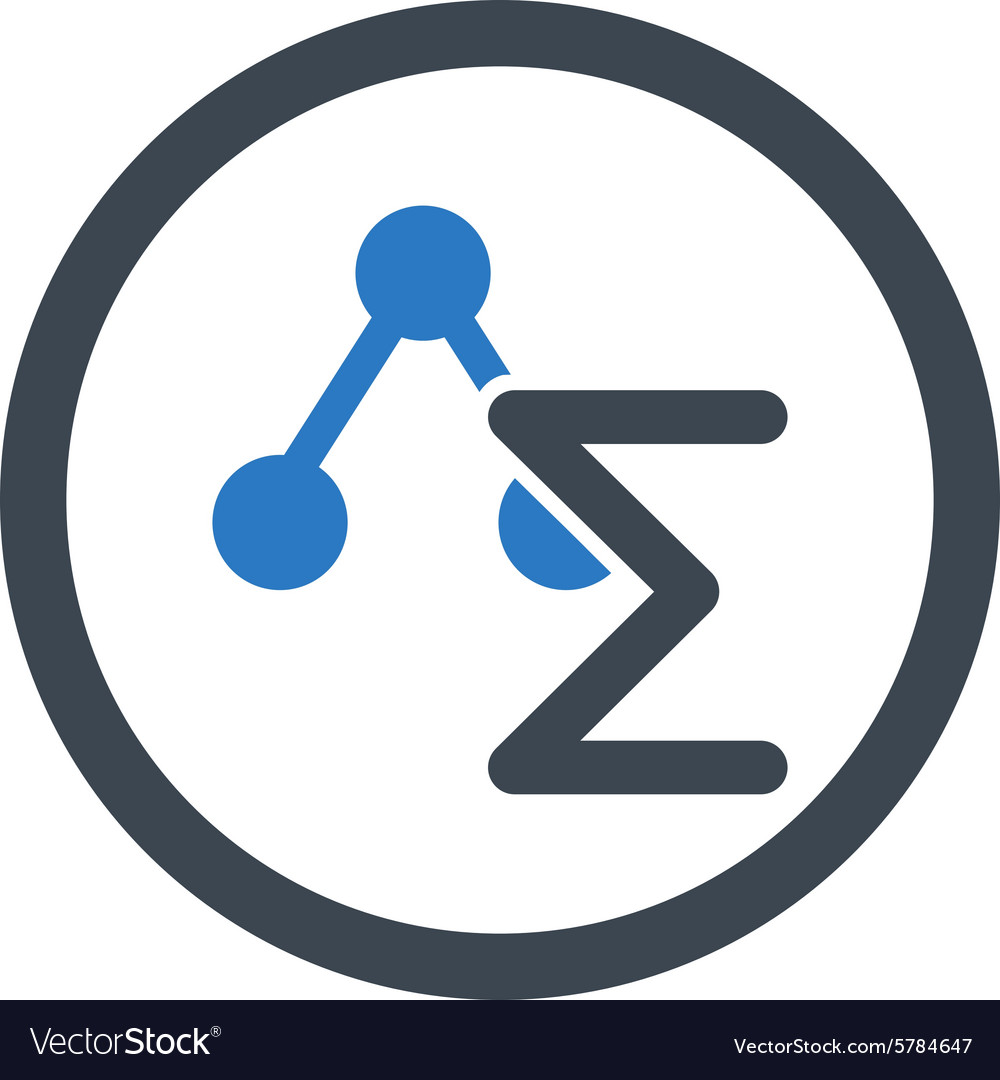 Analysis icon vector