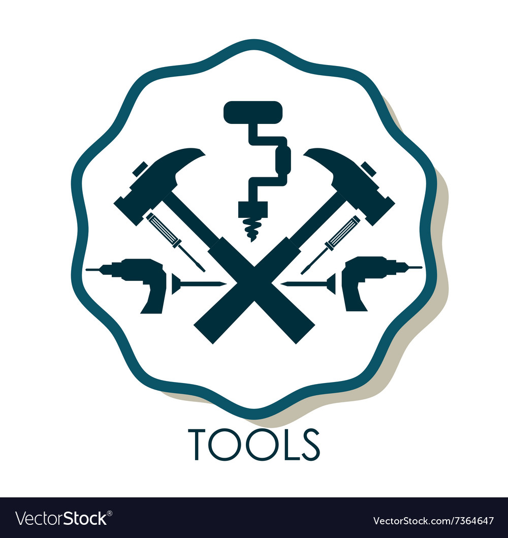 Tools icons design vector