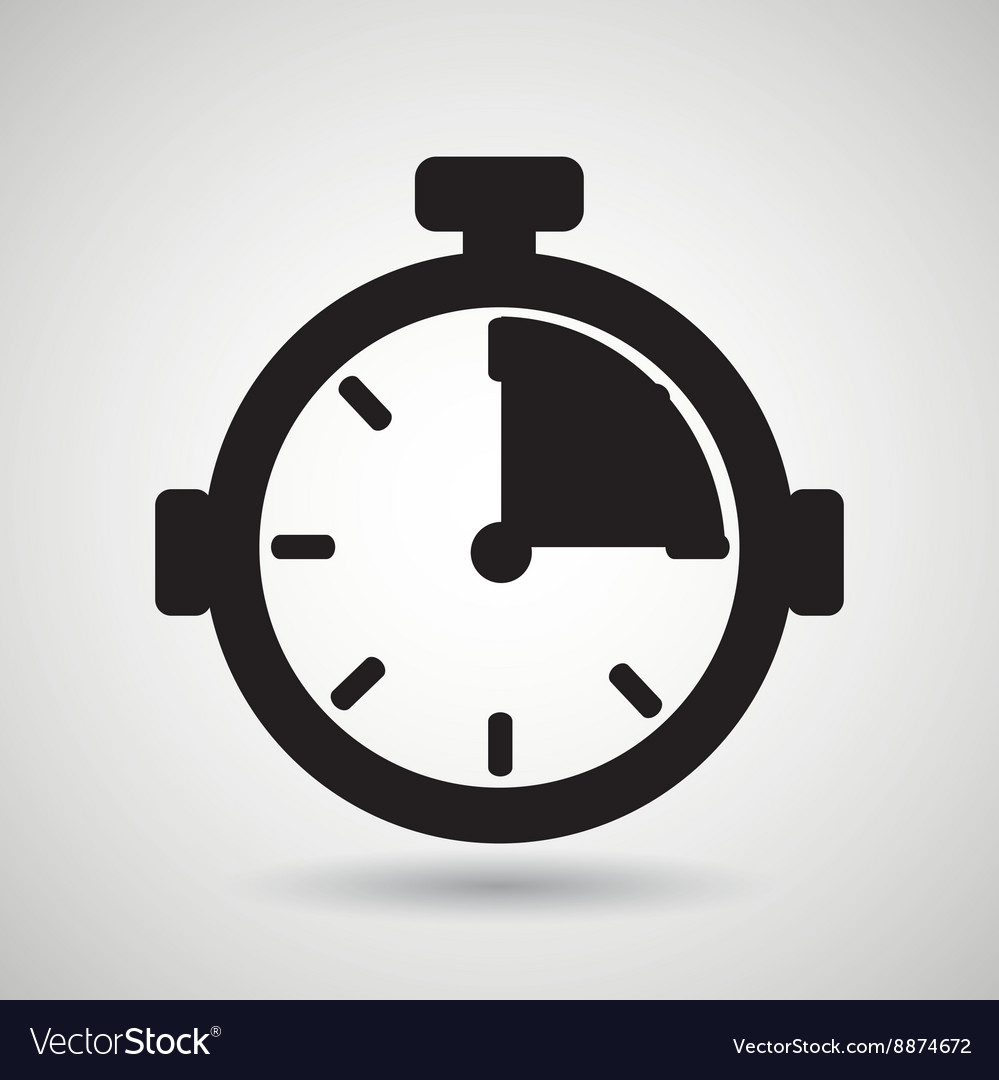 Chronometer icon design vector