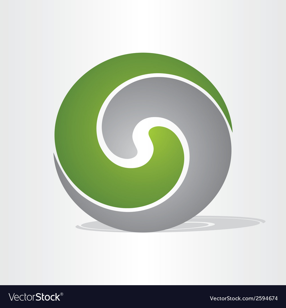 Liquid plastic ball icon vector