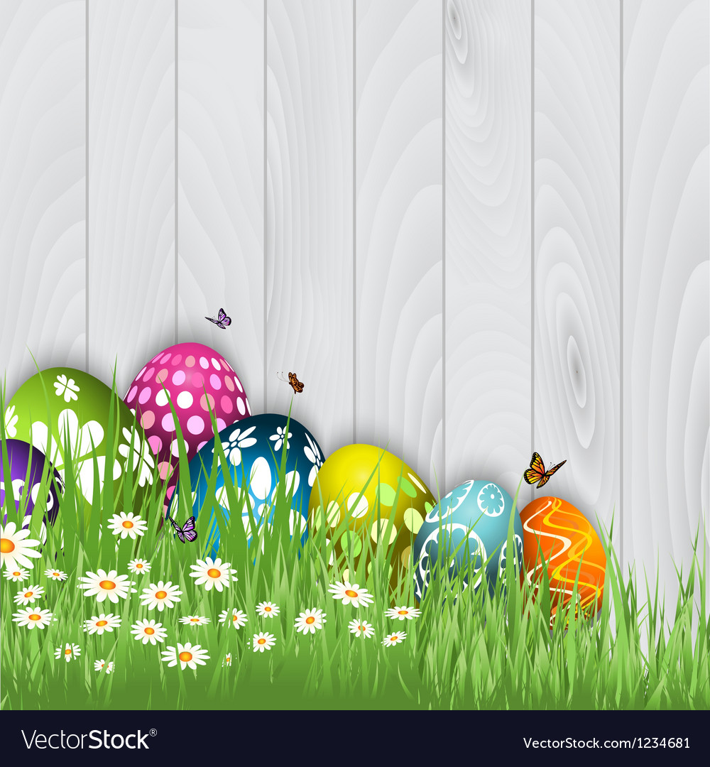 Easter egg background 0603 vector