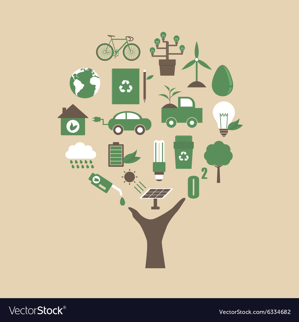 142ecology tree vector