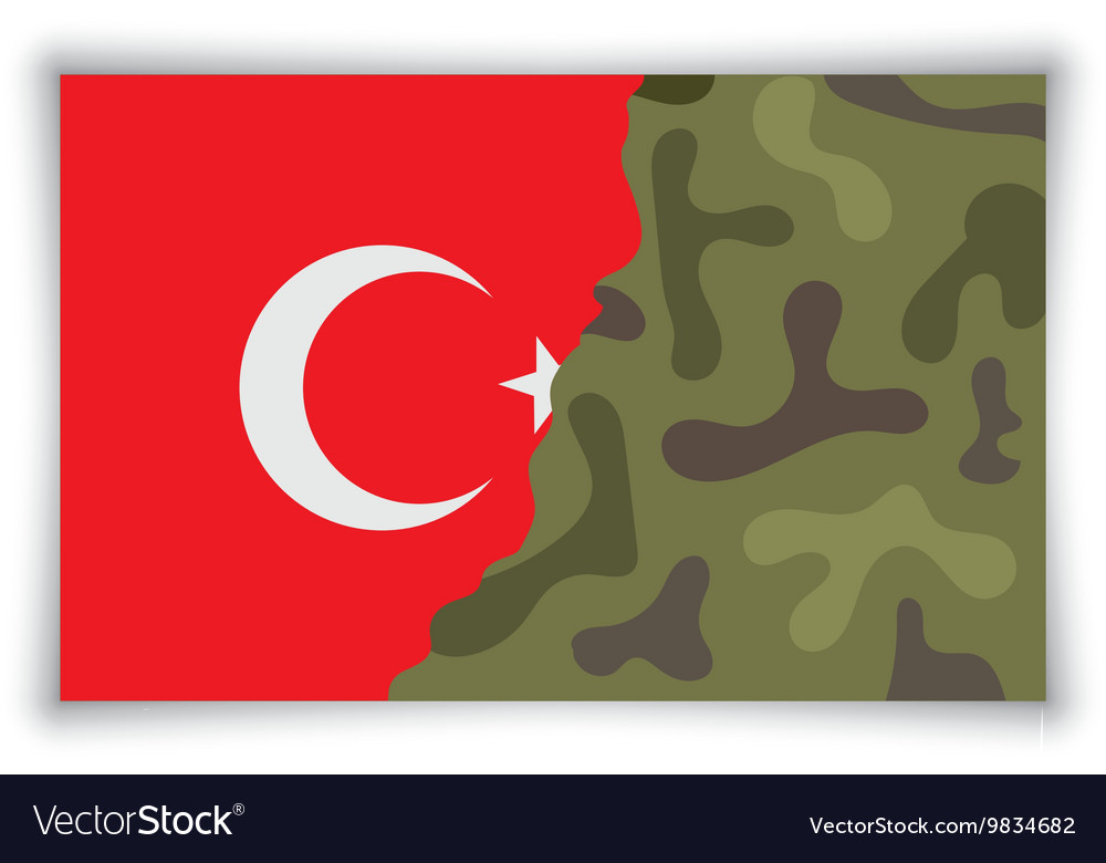 Military coup vector