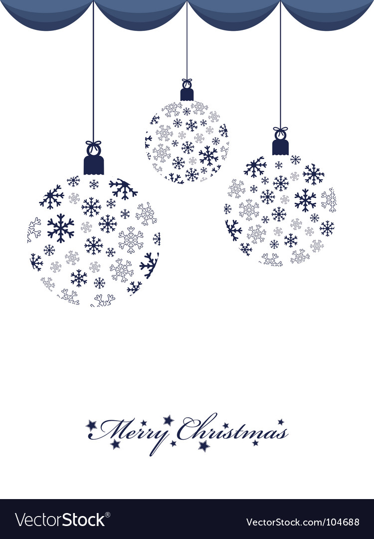 Hanging decorations vector