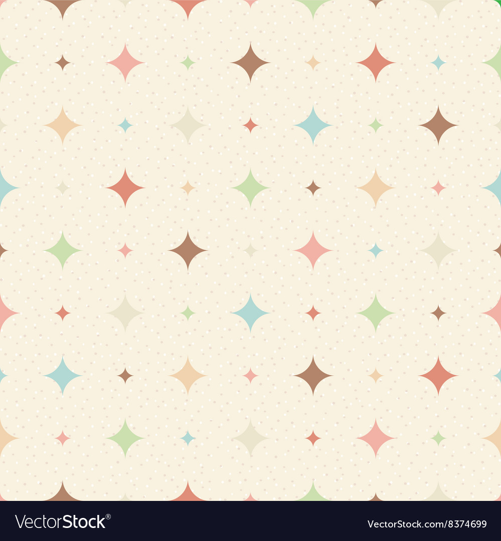 Color seamless textured diamond pattern vector