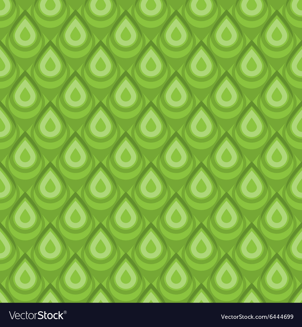 Green skin seamless pattern vector