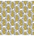 natural honey seamless pattern Bio hand vector image