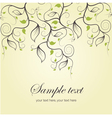 Romantic card for life events vector image